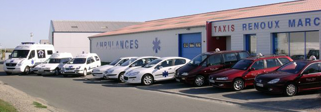 ambulances et taxis noirmoutier